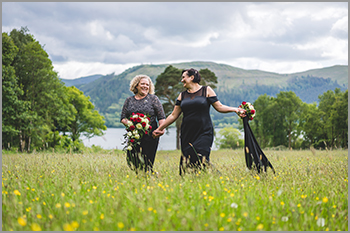 LGBT Friendly wedding photographer in the Lake District