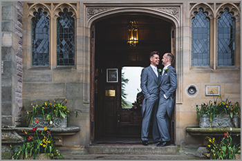 Same sex wedding photography in the Lake District and Cumbria