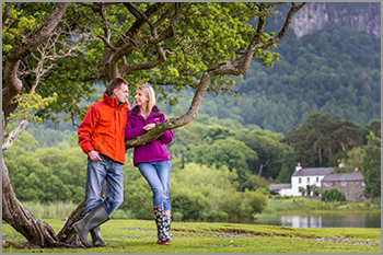 Engagement photo shoots in the Lake District