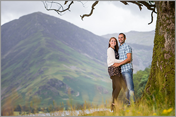 Lake District engagement pre-wedding photo shoot