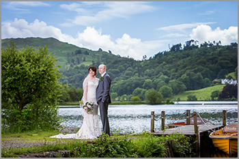 Wedding photography at the Daffodil Hotel in Grasmere