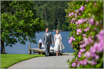 Wedding photography at Inn on the Lake, Glenridding
