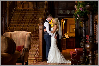 Wedding photography at Armathwaite Hall