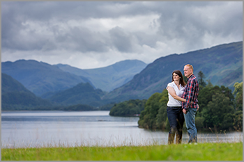 Pre-wedding photography in Cumbria