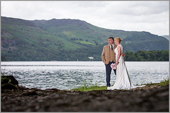 Wedding photography at the Lingholme Estate