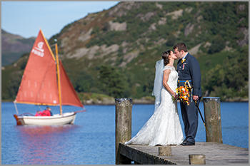 Wedding photography at Inn on the Lake