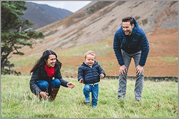 Family portrait photography in the Lake District and Cumbria