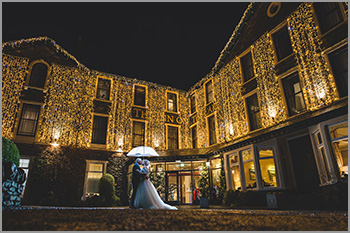 Christmas wedding at the Inn on the Lake, Ullswater, Lake District