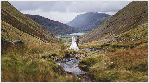 Lake District wedding photographer, Chris Freer