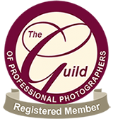 proud to be a member of the Guild of wedding photographers